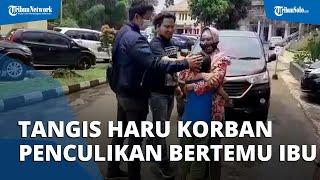 Sambil Menangis, Bocah Korban Penculikan Asal Klaten Peluk Erat Ibunya: Pulang dari Bogor ke Klaten