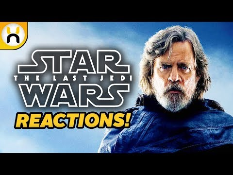The Last Jedi First Reactions Call it