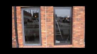 preview picture of video 'Aluminium Window Frame Restoration in Chertsey 0800 1577484 (purple-rhino.co.uk)'