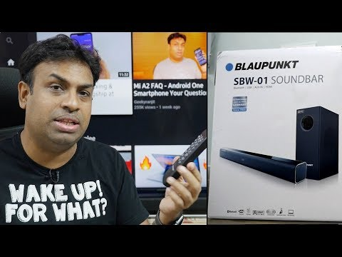 Blaupunkt SBW 01 Budget SoundBar with Subwoofer Any Good?