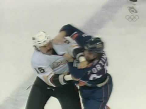 George Parros vs Zack Stortini