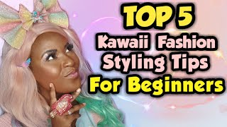 TOP 5 Kawaii Fashion Styling Tips For Beginners - Fairy Kei | Harajuku Fashion Ideas!