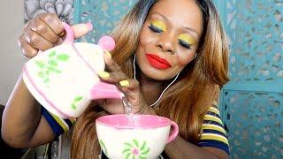 Girlfriend ASMR Soft Spoken Chit Chat 💑  Tea Time 🍵