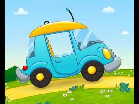 Машинки. Развивающий мультик для детей от 1 года до 3-х лет.