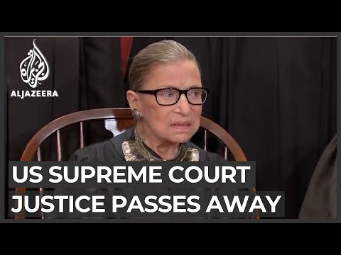 'Thank you RBG': Tributes pour in for Ruth Bader Ginsburg