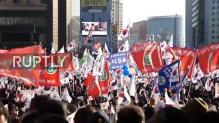 South Korea: Protests continue for impeachment of President Park in Seoul