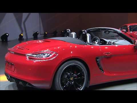 Porsche Boxster GTS and Porsche Cayman GTS premiere in Beijing 2014 - Autogefühl