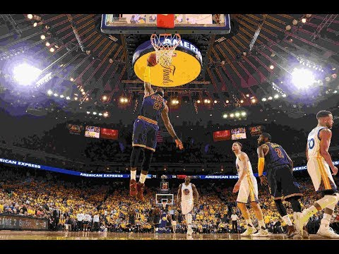 The TOP Dunks From NBA Finals 2017 Game 1