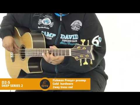 Ortega Guitars | D2-5 - Deep Series 2 (Acoustic Bass Guitar)