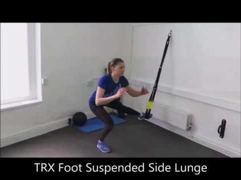 TRX Foot Suspended Side Lunge