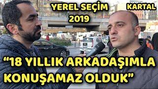 KARTAL - İSTANBUL | BİNALİ YILDIRIM - EKREM İMAMOĞLU | YEREL SEÇİM ANKETİ 2019