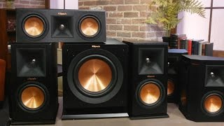 Klipsch's surround speakers are rock royalty