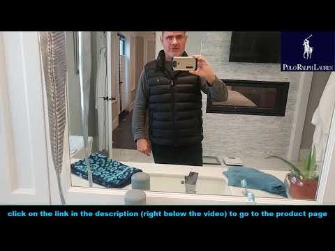 Polo Ralph Lauren Polo Mens Down Puffer Vest Review : Polo Vest Review 🏇