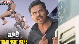 Gambar cover Khakee Movie Scenes   Khakee Train Fight Scene   Karthi, Rakul Preet   H.Vinoth