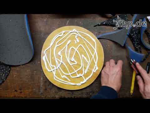 DIY: Drum Practice Pad / Schlagzeug Übungspad selber bauen
