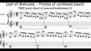 last of the mohicans violin sheet music - Thủ thuật máy tính