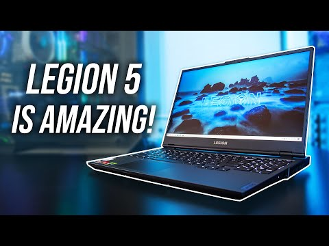 "External Review Video bvLF1pp3pRw for Lenovo Legion 5 17"" Gaming Laptop w/ AMD (17ARH-05)"