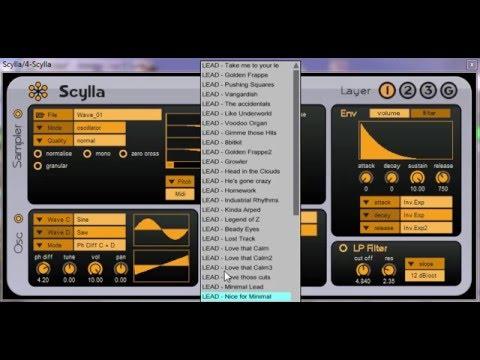 Scylla - Free Hybrid Vst Plugin