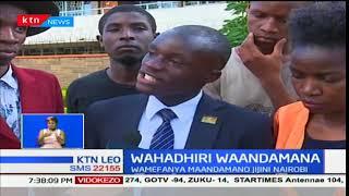 Wahadhiri wa vyuo vikuu wameandaa maandamano Nairobi