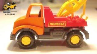 Model-Truck towing Review. Маленький эвакуатор - игрушечная модель   Loading review
