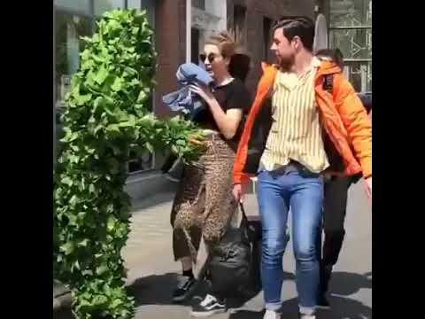 Пранк, человек дерево!