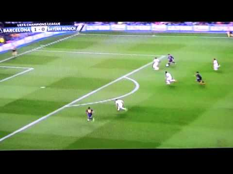 Fc Barcelona vs Bayern Munich (Messi's Goal)