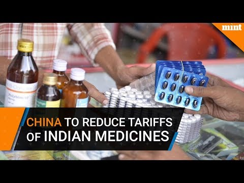 China to reduce tariffs, increase imports of Indian medicines