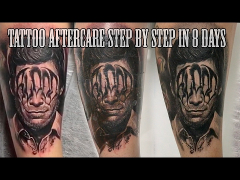 Video BEST TATTOO AFTERCARE STEP BY STEP IN 8 DAYS