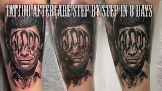 BEST TATTOO AFTERCARE STEP BY STEP IN 8 DAYS
