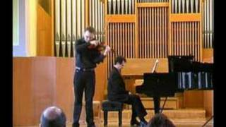Cadenza (by Joachim) Mozart A Kamil Zawadzki- violin