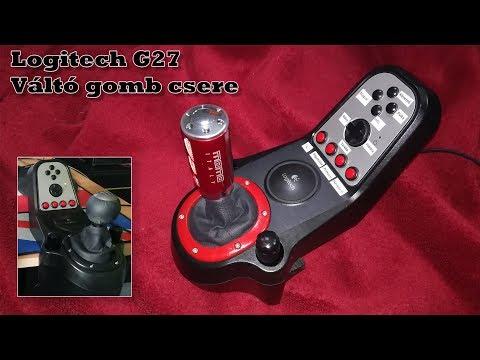 Logitech g27 changing shift knob - смотреть онлайн на Hah Life