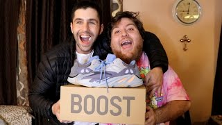 SURPRISING BEST FRIEND WITH HIS DREAM SHOES!
