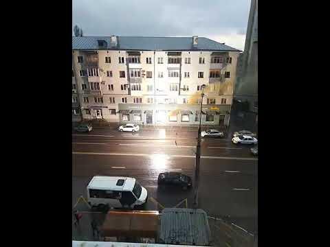 В Воронеже после ливня загорелись провода троллейбусной линии