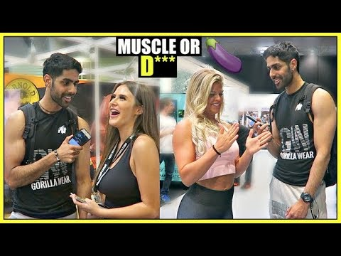 Do Girls Like BIG MUSCLES or BIG 🍆 (SOCIAL EXPERIMENT)