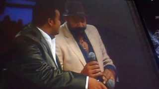 free download Mohanlal Singing with Jayaram @ Mazhavilazhakil Amma Stage Show, Sharjah, UAEMovies, Trailers in Hd, HQ, Mp4, Flv,3gp