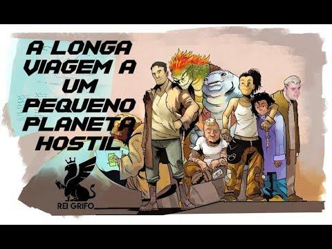 Resenha do Rei Grifo: A Longa Viagem a Um Pequeno Planeta Hostil