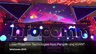 Laser Projection Technology at InfoComm 2018
