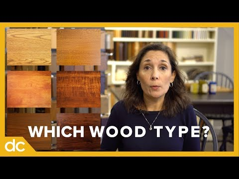 Which Wood Type Should I Choose for my Furniture? | FAQs: Question 1