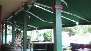 Folding Arm Awnings & Auto Guide Arms