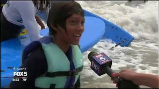 Kids with disabilities go surfing