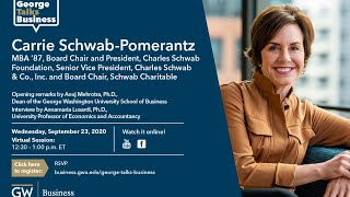 video - George Talks Business with Carrie Schwab-Pomerantz