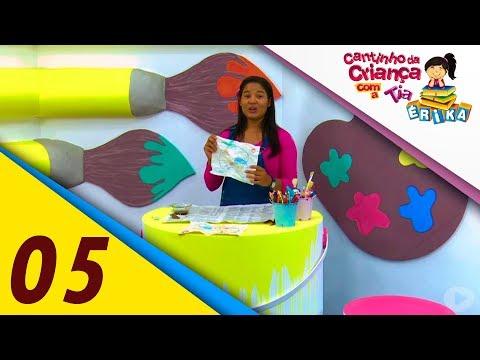 Aprender a fazer mapa do tesouro e limonada suíça - Cantinho da Criança com a Tia Érika