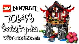 LEGO Ninjago 70643 Świątynia Wskrzeszenia! |RECENZJA PL