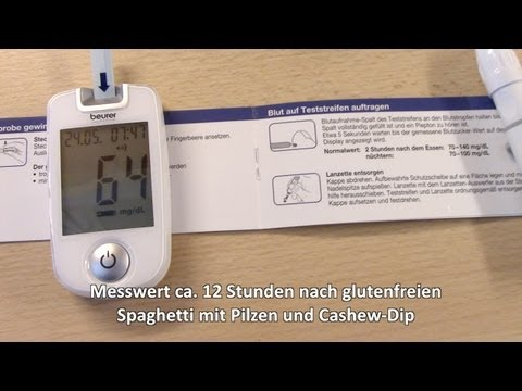 Mais und Krabben-Sticks bei Diabetes
