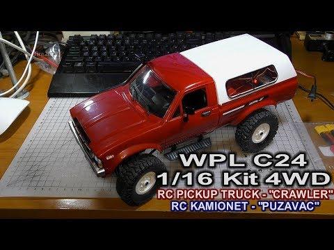 WPL C24 1/16 Kit 4WD RC Pickup Truck-Crawler (Bangood)