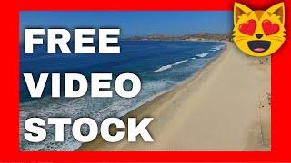 Stock Footage Cabo Beach 1/ DJI Phantom 3 Drone