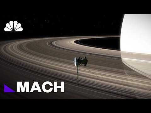 Saturn's Rings Might Be Younger Than We Thought | Mach | NBC News