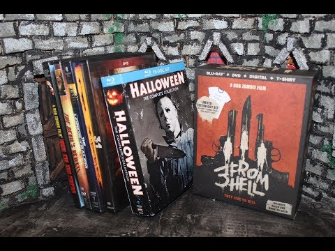 Zach's Rob Zombie DVD/Blu-Ray Collection and 3 from Hell Gift Set Unboxing