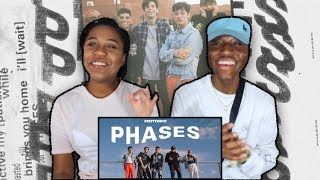 REACTION TO PRETTYMUCH   PHASES (Official Video)