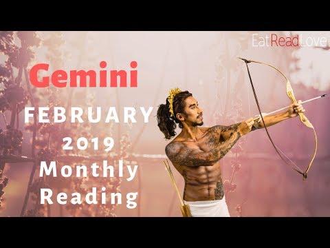 GEMINI February 2019 Tarot reading forecast - смотреть